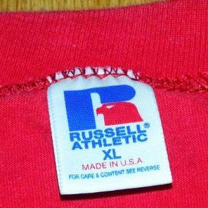 VTG 90s CHIEFS T-Shirt Kansas City Russell NFL Pro Line XL