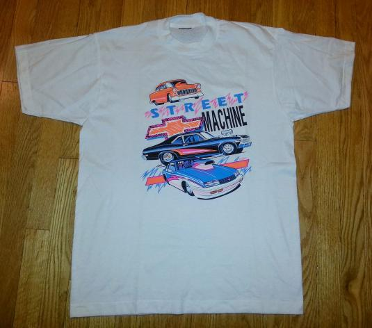 NDS 80s Street Machines T-Shirt Chevy Muscle Cars Chevrolet