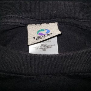 VTG 90s Grateful Dead T-Shirt Liquid Blue Skeleton Cards 3XL