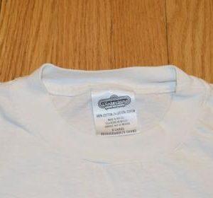 90s CHICAGO T-Shirt Rock Band Concert Tour American Flag XL