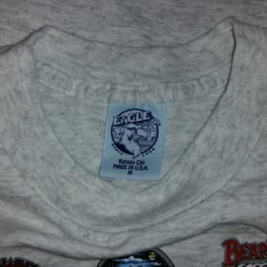 Vintage 90s Bear Whiz Beer West Virginia T-Shirt Fits M/L