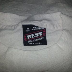 90s Missouri T-Shirt Lake of the Ozarks Ski Country Neon M