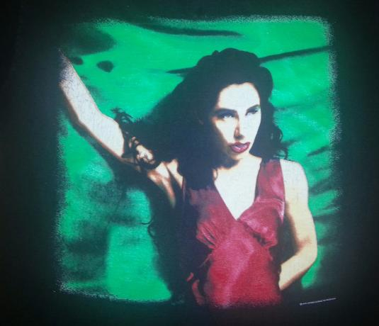 Vintage 90s PJ HARVEY T-Shirt Down by the Water Sz L to XL