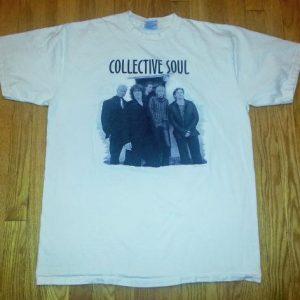 VTG 90s COLLECTIVE SOUL T-Shirt Dosage Tour Concert Tour XL