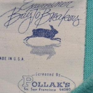 Vintage 80s T-Shirt Examiner BayBreakers Runner SOFT 50/50