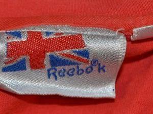 Vintage 80s Reebok Slam Basketball T-Shirt - M