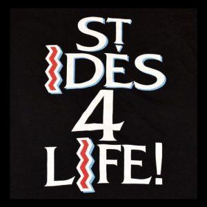 Vintage 90s St. Ides 4 Life Hip Hop NWA Ice Cube T-Shirt XL