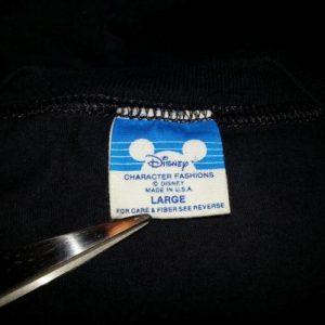 1990 Dick Tracy T-Shirt Disney MGM Studios Promo Movie Sz L