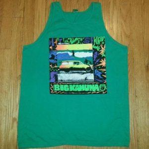 80s Big Kahuna Surfing Tank Top T-Shirt Woodie Bus Sz L