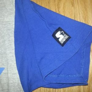 90s NY Knicks T-Shirt Starter NBA Basketball Heather Gray XL