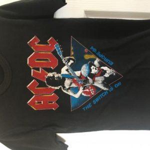 AC/DC 1984 Monsters of Rock Festival Donnington Park
