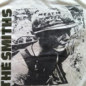 The Smiths Meat is Murder 1985 Tour Shirt