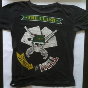 Straight To Hell   The Clash c. 1983 Original
