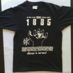 Frankenchrist Dead Kennedys 1985 Tour