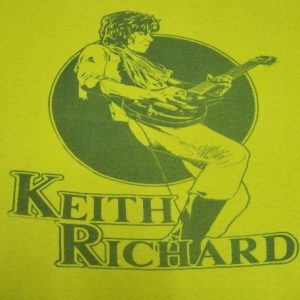 VINTAGE 70'S KEITH RICHARD T-SHIRT