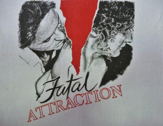 VINTAGE 1987 FATAL ATTRACTION T-SHIRT