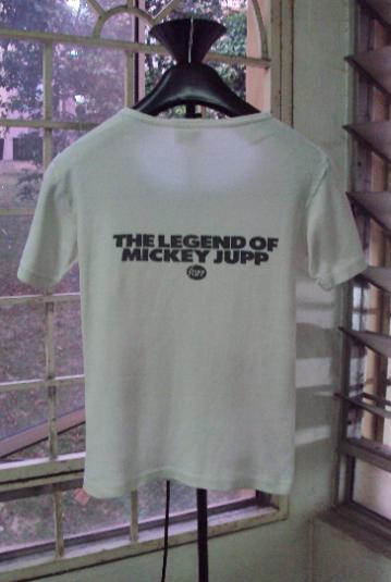 VINTAGE 1978 MICKEY JUPP STIFF RECORDS T-SHIRT