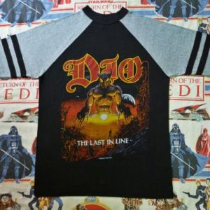 VINTAGE 1984 DIO THE LAST IN LINE TOUR T-SHIRT
