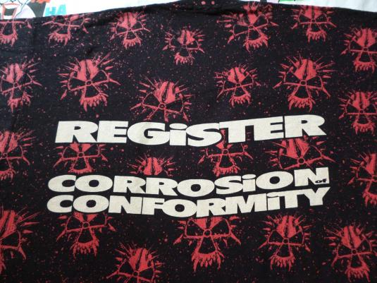 VINTAGE CORROSION OF CONFORMITY T-SHIRT