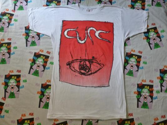 VINTAGE 1992 THE CURE WISH TOUR T-SHIRT