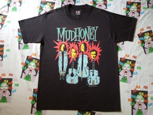 VINTAGE 1993 MUDHONEY T-SHIRT