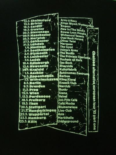 VINTAGE CHELSEA THE ALTERNATIVE TOUR T-SHIRT
