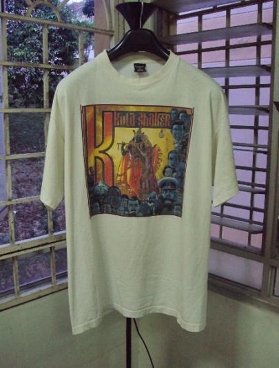 VINTAGE 90'S KULA SHAKER PROMO T-SHIRT