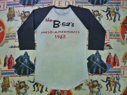 VINTAGE 1982 THE B-52s MESOPOTAMIA TOUR T-SHIRT