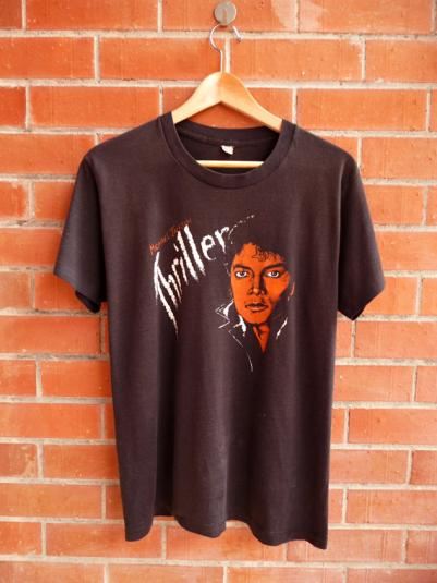 Vintage 1983 MICHAEL JACKSON Thriller T-Shirt