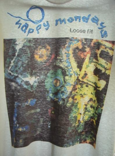 VINTAGE 1990 HAPPY MONDAYS LOOSE FIT T-SHIRT