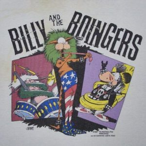 VINTAGE 1987 BILLY & THE BOINGERS T-SHIRT