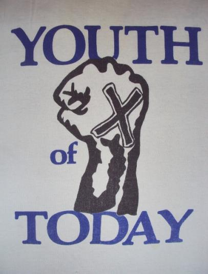 VINTAGE YOUTH OF TODAY SXE T-SHIRT