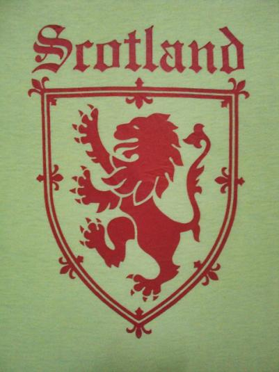 VINTAGE 70'S SCOTLAND T-SHIRT