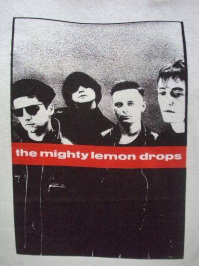 VINTAGE 80'S THE MIGHTY LEMONDROPS T-SHIRT