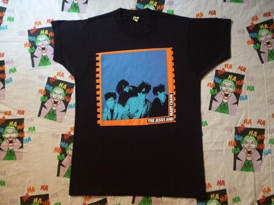1980S JESUS & MARY CHAINS T-SHIRT