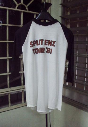 VINTAGE 1981 SPLIT ENZ TOUR T-SHIRT