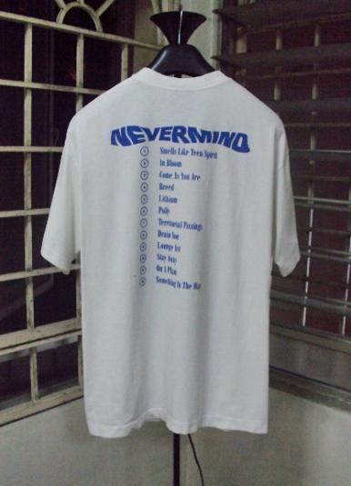 VINTAGE 1992 NIRVANA NEVERMIND T-SHIRT
