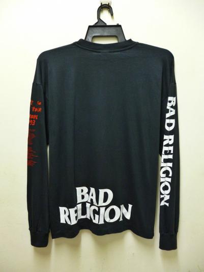 VINTAGE BAD RELIGION TOUR T-SHIRT