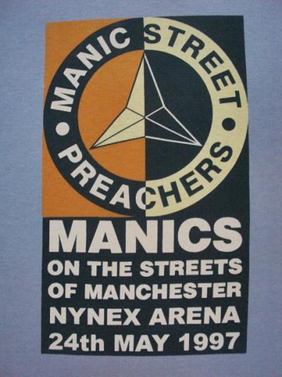 VINTAGE 90'S MANIC STREET PREACHERS T-SHIRT