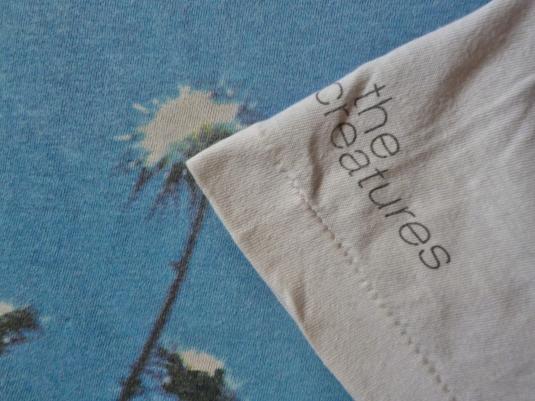 VINTAGE 1990 THE CREATURES PROMO T-SHIRT
