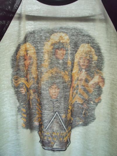Vintage 1987 STRYPER Tour T-Shirt