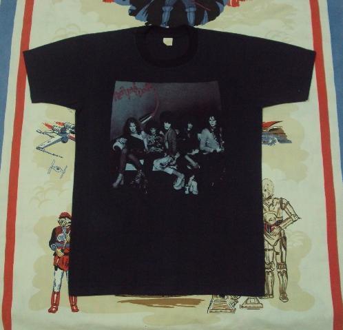 Original Vintage NEW YORK DOLLS Tee Johnny Thunders