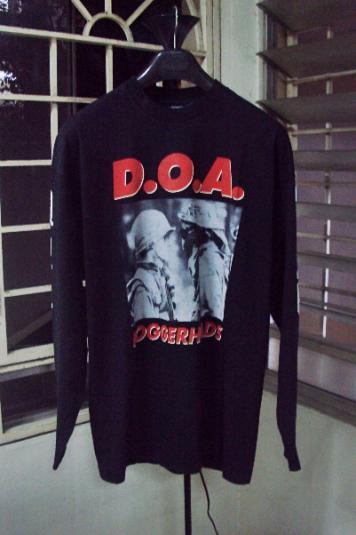 VINTAGE 1993 DOA WORLD TOUR T-SHIRT