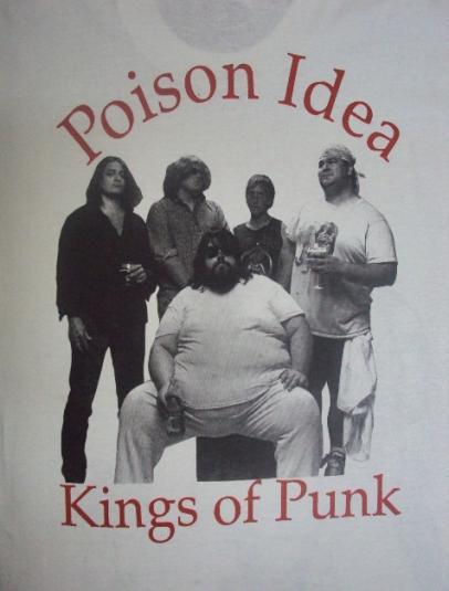 "1980'S POISON IDEA ""KINGS OF PUNK"" PROMO"