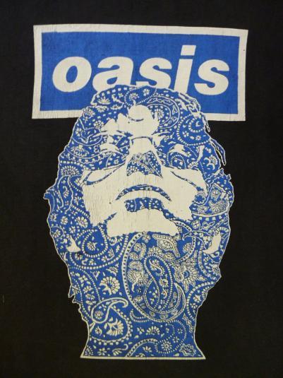VINTAGE 90S OASIS LIAM GALLAGHER T-SHIRT