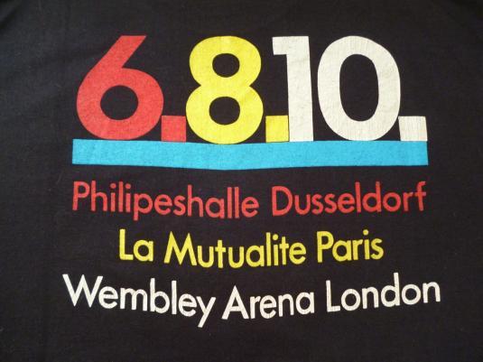 RARE VINTAGE 1988 NEW ORDER T-SHIRT TOUR