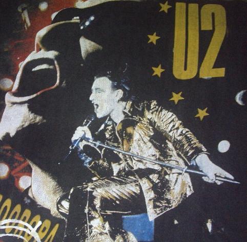 VINTAGE U2 ZOOROOPA T-SHIRT