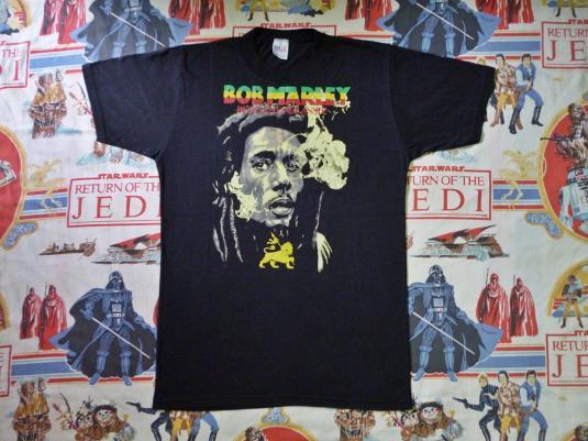 VINTAGE 80S BOB MARLEY T-SHIRT