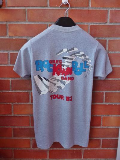 VINTAGE 1982 THE GREG KIHN BAND ROCK N ROLL TOUR T-SHIRT