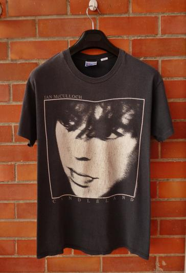 VINTAGE 1989 IAN McCULLOCH CANDLELAND T-SHIRT